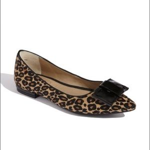 Me Too Leopard Bow Flats 8